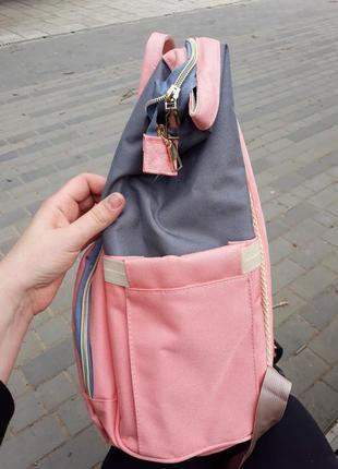 Сумка рюкзак органайзер для мамы, в разных расцветках.3 фото