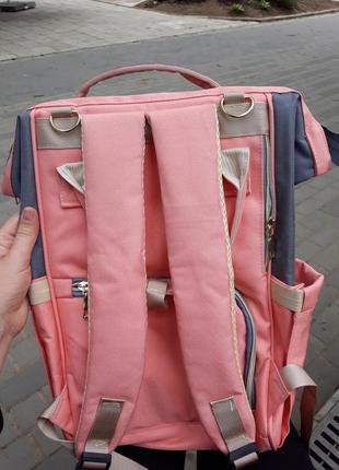 Сумка рюкзак органайзер для мамы, в разных расцветках.5 фото