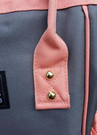 Сумка рюкзак органайзер для мамы, в разных расцветках.6 фото