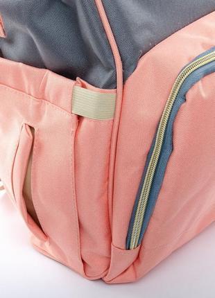 Сумка рюкзак органайзер для мамы, в разных расцветках.7 фото