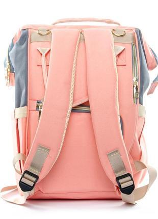 Сумка рюкзак органайзер для мамы, в разных расцветках.9 фото