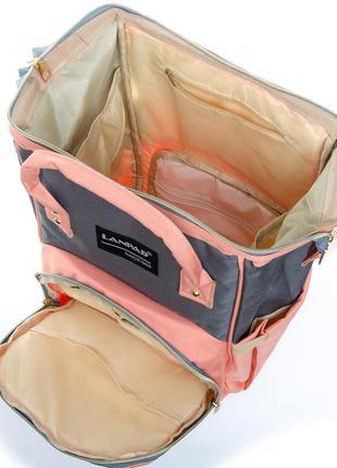 Сумка рюкзак органайзер для мамы, в разных расцветках.10 фото