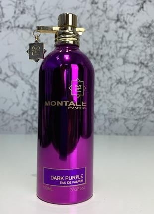 Montale dark purple edp 100ml tester, france
