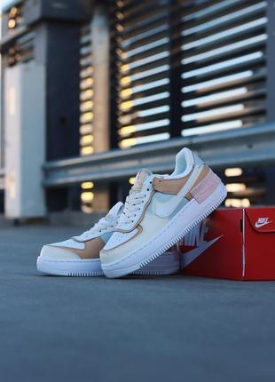 Nike air force 1 shadow spruce aura женские кроссовки наложенный платёж купить