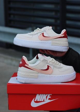 Nike air force 1 shadow grey white женские кроссовки наложенный платёж купить