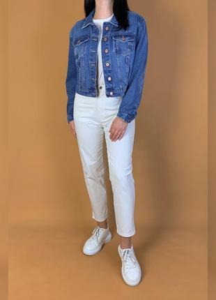 Куртка джинсовая оверсайз/объёмная new look.