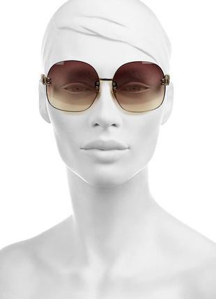 Очки-авиаторы в змеиной коже linda farrow luxe aviator sunglasses