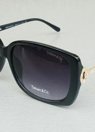 Tiffany and co очки женские солнцезащитные черные с градиентом