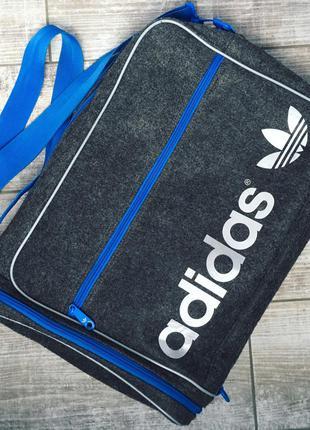 Стильная сумка для ноутбука adidas originals airliner 2.0