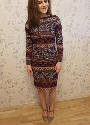 Деловое платье
