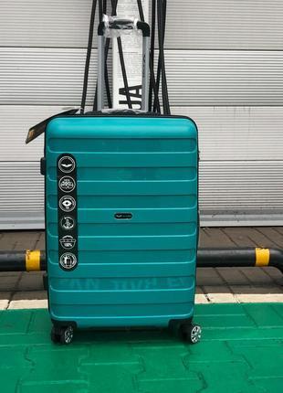 Супер крепкий чемодан из полипропилена осталосталось два!!!