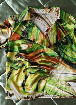 Блуза блузка на запах