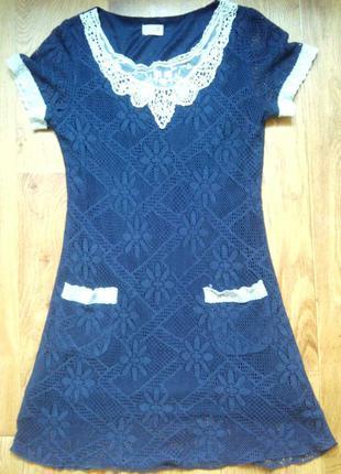 Кружевное платье danity