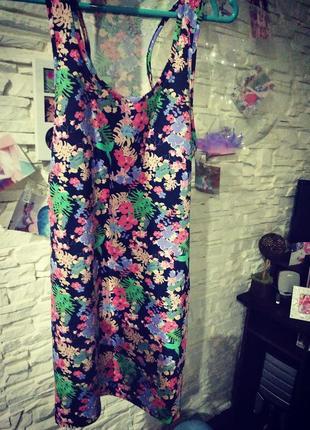 Классное платье майка colin's