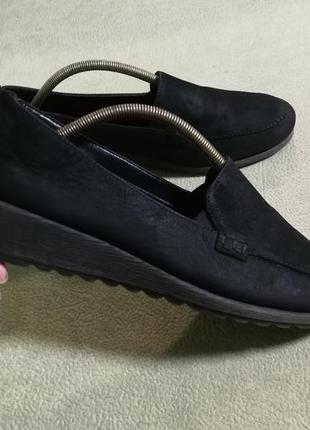 Кожаные,мягкие туфли john  lewis