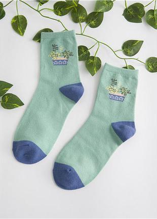 Plants стильные носки хлопок + расцветки!