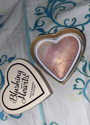 Blushing hearts  highlighter хайлайтер