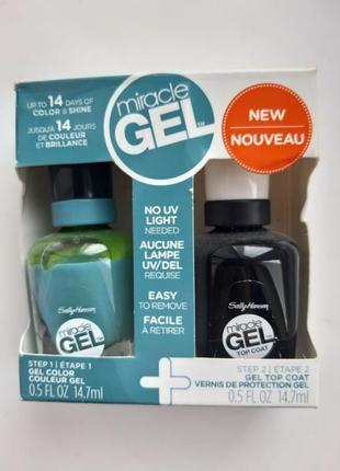 Лак для ногтей sally hansen miracle gel набір лаків