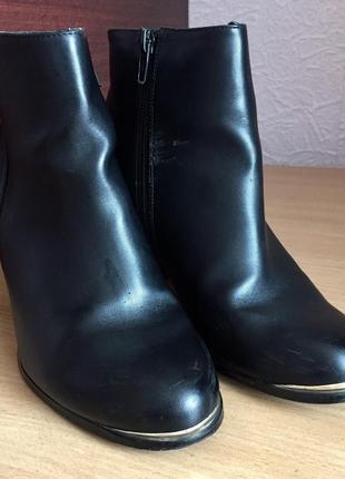 Чёрные ботинки miss selfridge