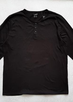 Пуловер мужской livergy  черный
