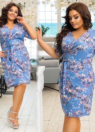 Платье на 52-62, размер