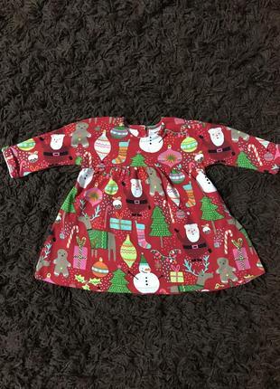 Новогоднее платье next