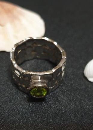 Массивное кольцо из серебра zarina