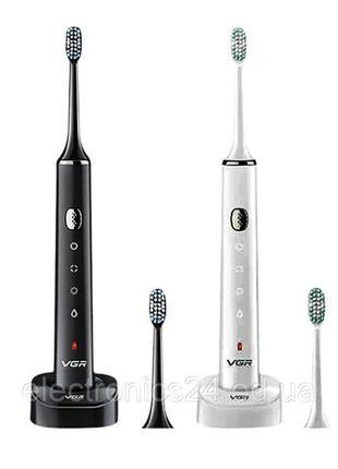 Аккумуляторная электрическая зубная щетка vgr v-809