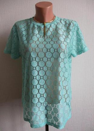 Кружевная гипюровая блуза atmosphere