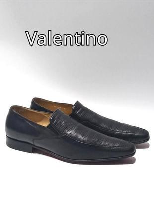Кожаные туфли valentino оригинал
