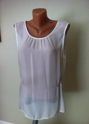 Нарядная  белая блузка большой размер,подойдет и будущим мамочкам