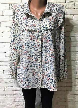 Нарядная блуза с оборками