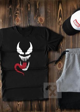 Комплект шорты футболка кепка