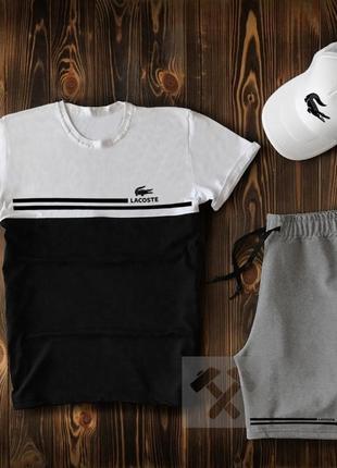 Комплект футболка шорты кепка