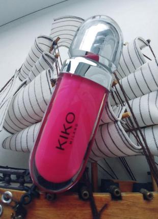 Блеск для губ 3d kiko milano 25