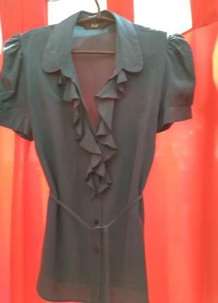 Блуза шелковая/блуза шовк