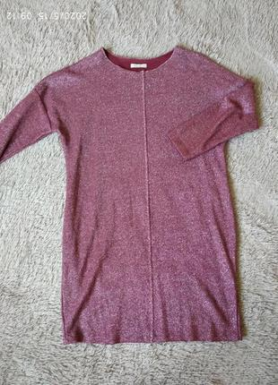 Платье, туника четвертной рукав