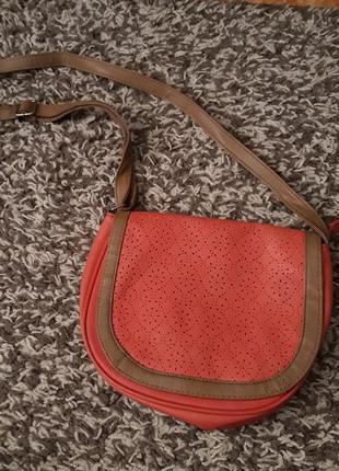 Кораловая сумка