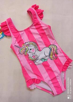 Яркие модные детские купальники от 2 до 10 лет