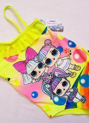 Яркие модные детские купальники, от 2 до 10 лет