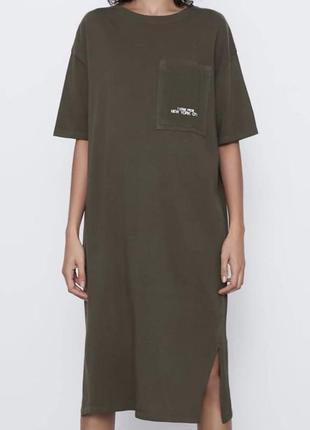 Платье туника zara 2020