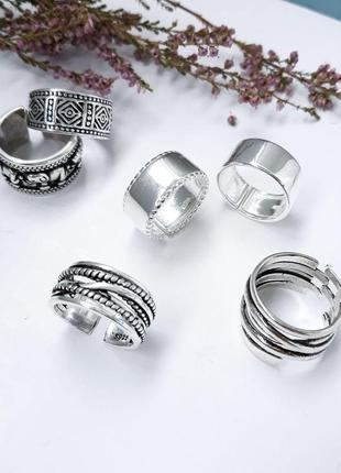 Красивые женские серебряные кольца, из серебра 925