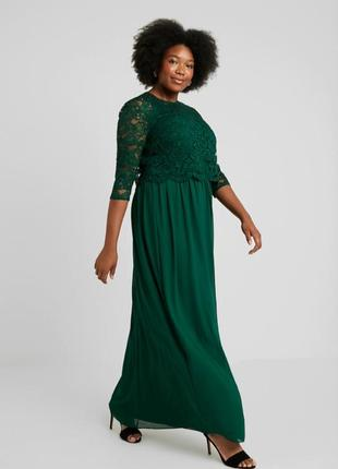 Платье с кружевным топом tfnc,  размер 18