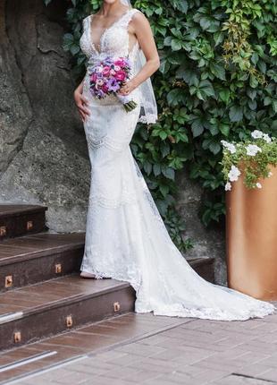 Свадебное платье возможен торг