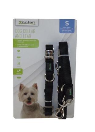 Поводок и ошейник для собак zoofari