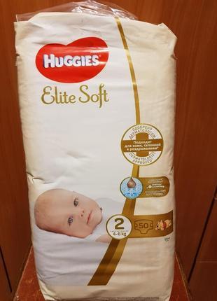 Подгузники huggies elit soft