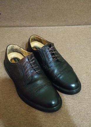 Туфли кожаные от dockers