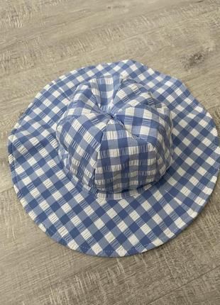 Солнцезащитная пляжная панамка, шляпка next 3-4 года