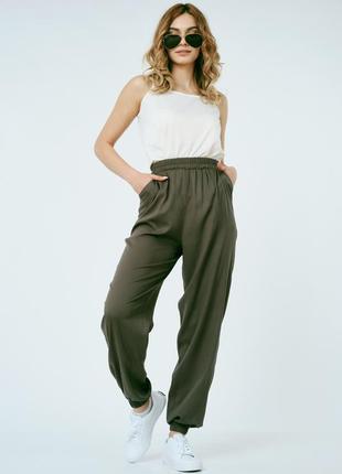Женские летние брюки джоггеры 44- 54 размер