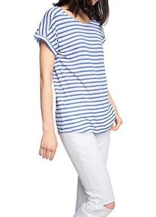Esprit футболка в синюю полоску